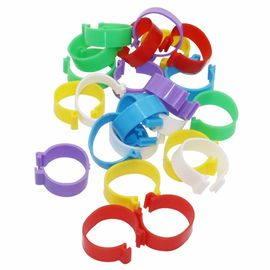 China Customized Size Animal Poultry Leg Rings For Farm Animal Tracking Management distributor